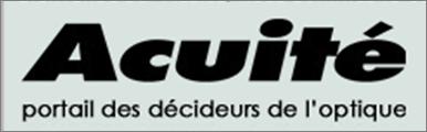 Acuité, portail des décideurs de l'optique parle de Verre2Vue