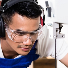 lunettes de sécurité à la vue