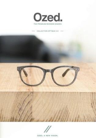 ozed lunettes en bois