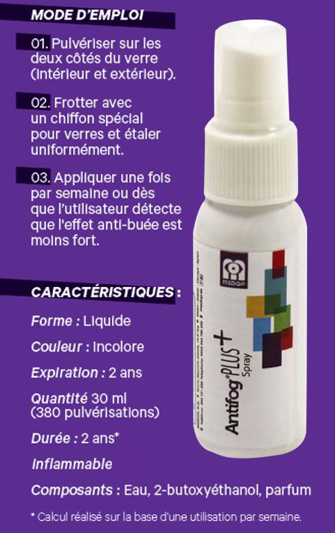Spray antibuée 30ml Image